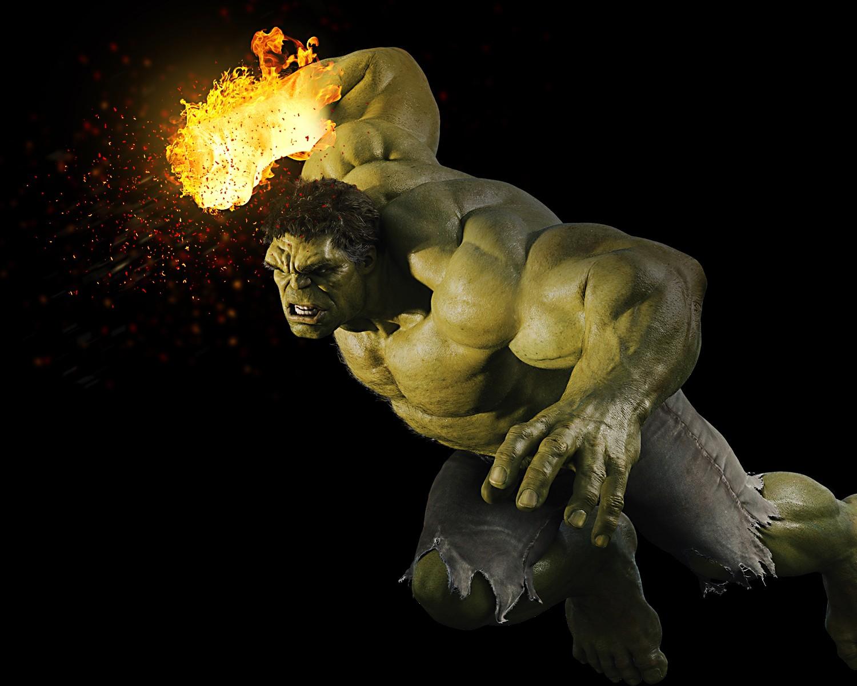 Fonds d'écran Comics et BDs Hulk Hulk poing de feu - Marvel