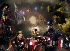 Movies FanArt affiche de cinéma Avengers Infinity War