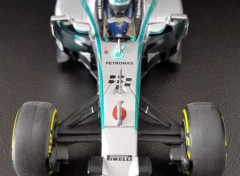 Voitures Mercedes AMG W05 ( 2014 - Nico ROSBERG )