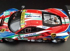 Cars Ferrari 488 GTE - 24 Heures du Mans 2016