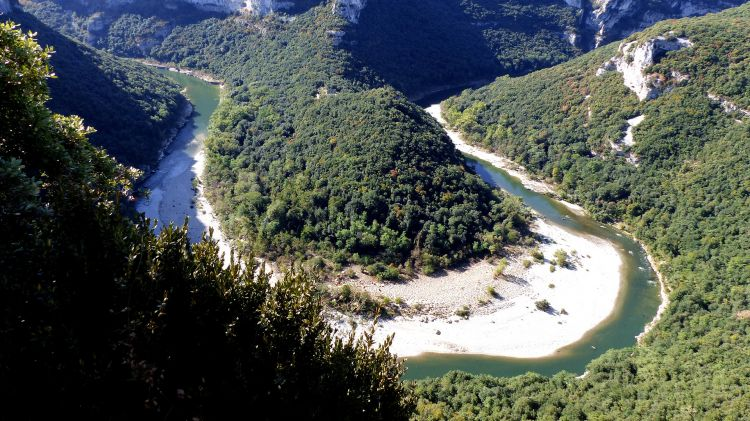 Fonds d'écran Voyages : Europe France > Ardèche Les gorges de l'Ardèche