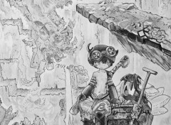 Art - Pencil Made in Abyss
