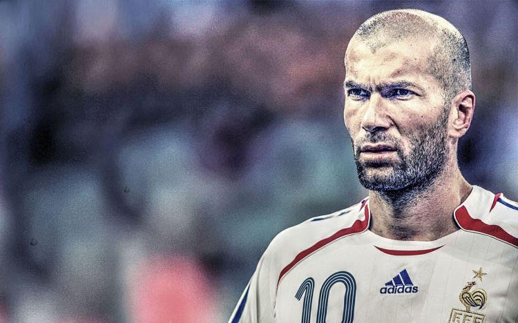 Fonds d'écran Célébrités Homme Zinedine Zidane Wallpaper N°455473