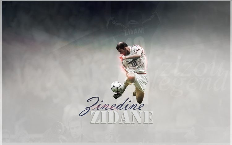 Fonds d'écran Célébrités Homme Zinedine Zidane Wallpaper N°455479