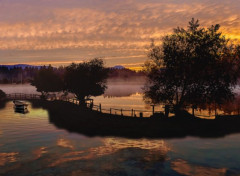 Art - Numérique et le ciel flamboyait