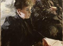 Art - Peinture Omnibus (première version) - 1892 - Anders Zorn