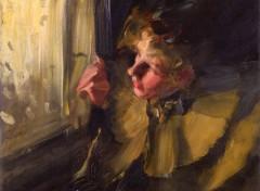 Art - Peinture Etude pour Omnibus - 1892 - Anders Zorn