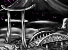Art - Numérique  Ghost Samuraï