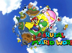 Video Games Brutal Mario world