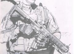 Art - Crayon legion etrangere