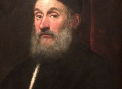 Art - Peinture Portrait de Marco Giustignan - vers 1559 - Tintoret