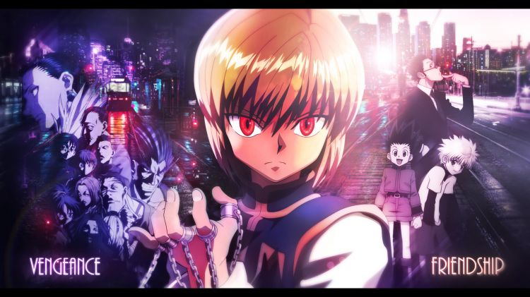 Fonds d'écran Manga Hunter x Hunter Kurapika's choice