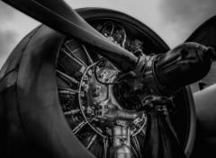 Avions Moteur à piston d'un avion à hélice