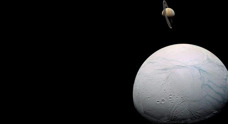 Fonds d'écran Art - Numérique Espace - Univers Encelade