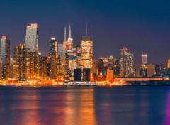 Voyages : Amérique du nord New york panorama