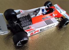 Voitures McLaren-Ford M29 (1980 - Alain PROST, 6éme du Grand Prix d'Argentine)