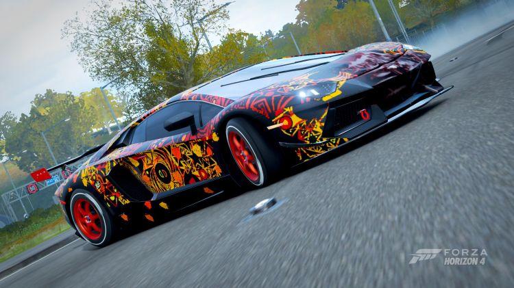 Fonds d'écran Jeux Vidéo Forza Horizon 4 lamborghini forza horizon 4