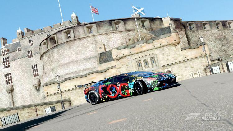 Fonds d'écran Jeux Vidéo Forza Horizon 4 Voitures
