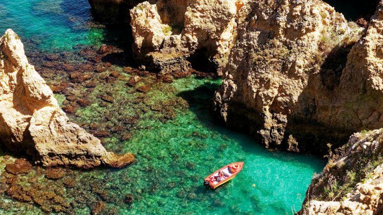 Wallpapers Nature Seas - Oceans - Beaches La crique turquoise