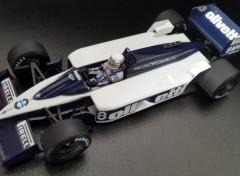 Voitures Brabham BT55 (GP Monaco 1986 - Elio de Angelis)