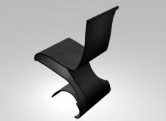 Art - Numérique Chaise design