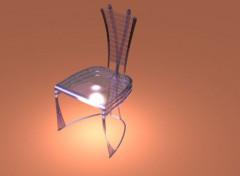 Art - Numérique Chaise pexiglass