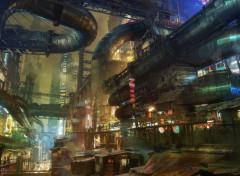 Fantasy et Science Fiction Alita - Iron City 01