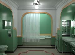 Art - Numérique Bathroom Room 237 - The Shining