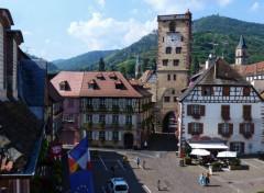 Voyages : Europe Ribeauvillé (Haut-Rhin)