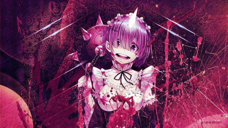 Fonds d'écran Manga Divers Re:Zero -REm