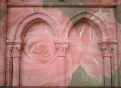 Art - Numérique Wall of roses