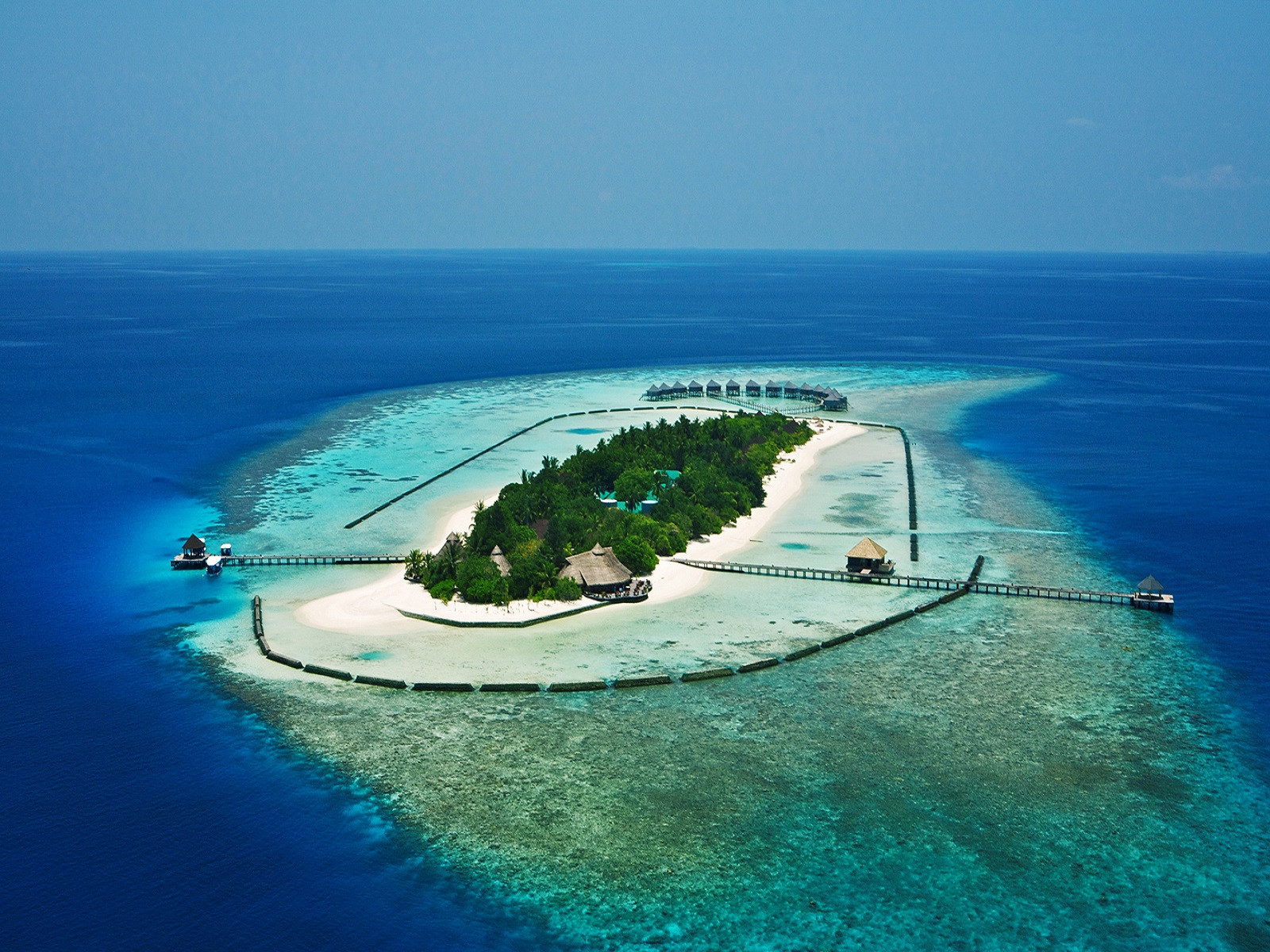 Fonds d'écran Nature Iles Paradisiaques Ile des tropiques