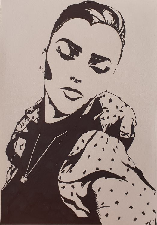 Fonds d'écran Art - Crayon Portraits Portrais