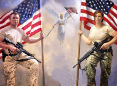 Art - Peinture Patriotes USA