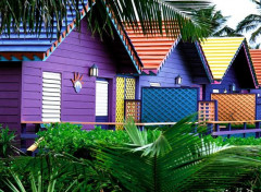 Constructions and architecture Maisons Couleurs