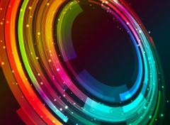 Art - Numérique abstract circle rotation