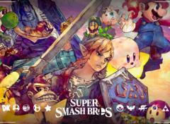 Jeux Vidéo Super smash bros - the initials 12